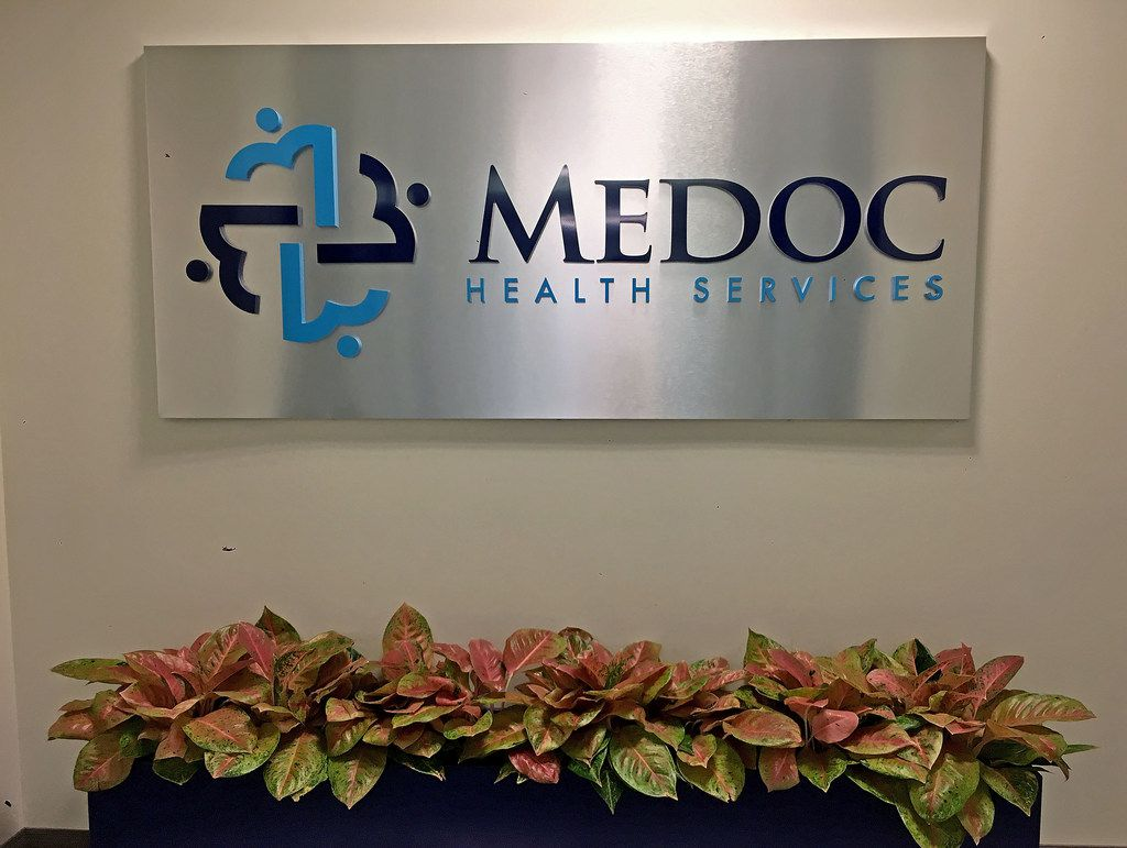 Federal agents raided Medoc Health Services in Dallas on Wednesday.