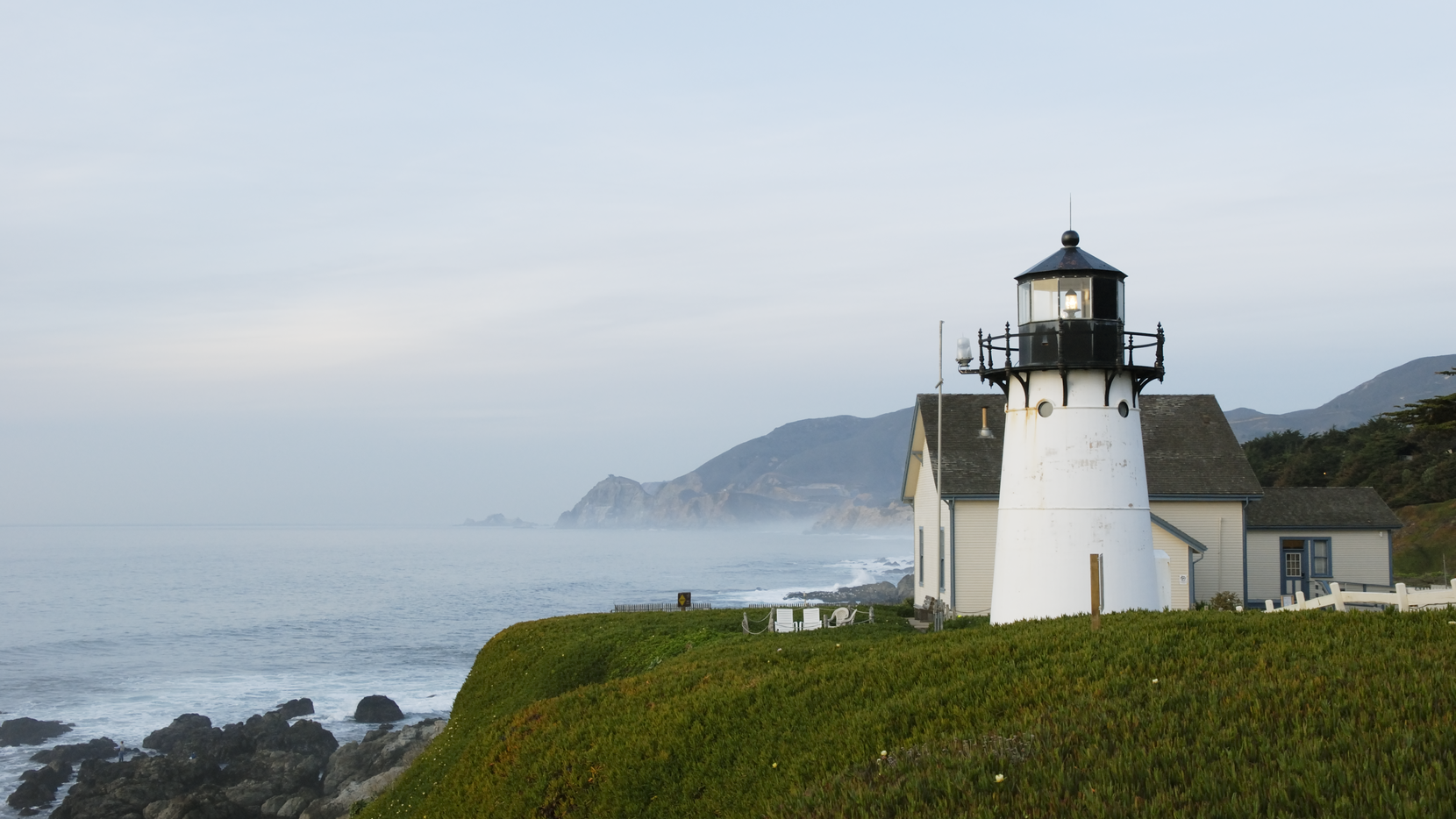 The Point Montara Lighthouse near San Francisco is the only beacon to have operated on America's Atlantic and Pacific coasts.