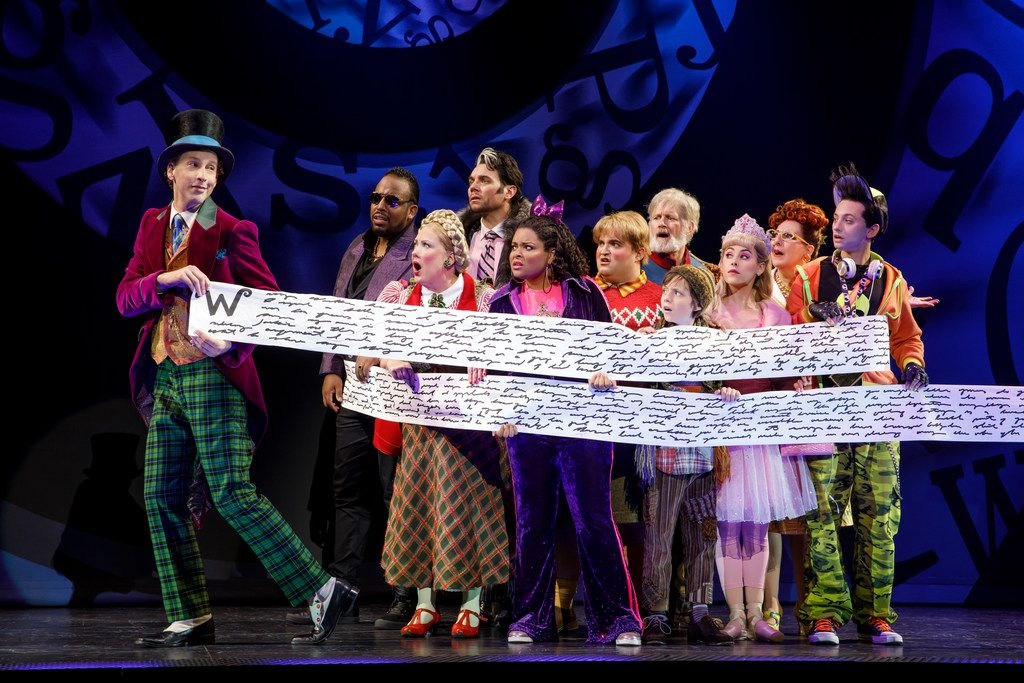 Charlie and the Chocolate Factory, which runs at the Winspear Opera House in Dallas from Aug. 22-25, draws inspiration from the 1971 movie starring Gene Wilder.