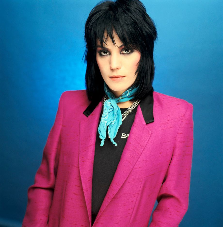 Joan Jett's I Love Rock 'n' Roll album cover, New York City.