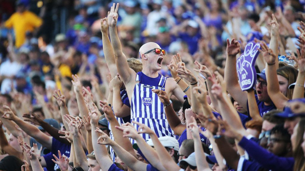 TCU fans will have one more chance to watch the Frogs at home in 2019. (Louis DeLuca/The Dallas Morning News)