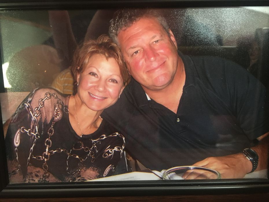 Former FC Dallas coach Dave Dir, right, pictured in 2014 with wife Cindy. (Courtesy/Dir family)