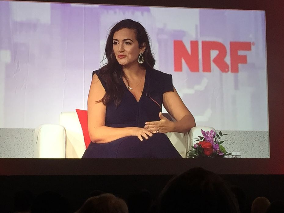 Jennifer Hyman, CEO and co-founder of Rent the Runway, spoke at the National Retail Federation's annual meeting in New York on Jan. 12-14, 2020.