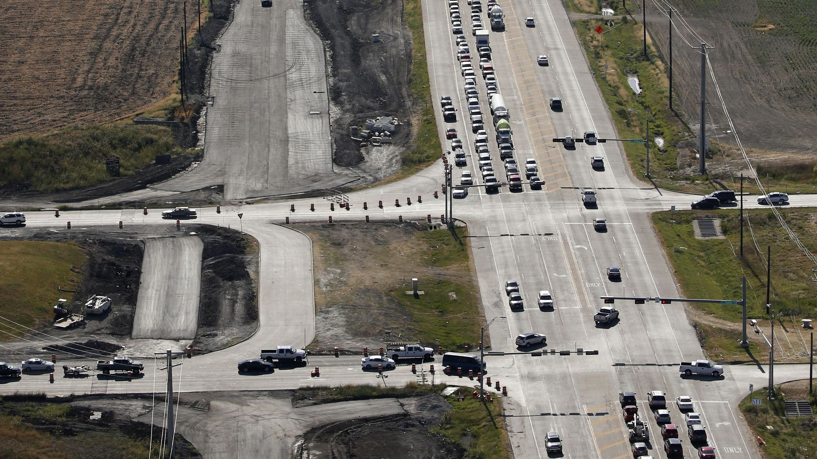 One of the vacant corners of the Dallas North Tollway and U.S. 380 sold.