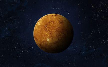 Imagen del planeta Venus proporcionada por NASA.