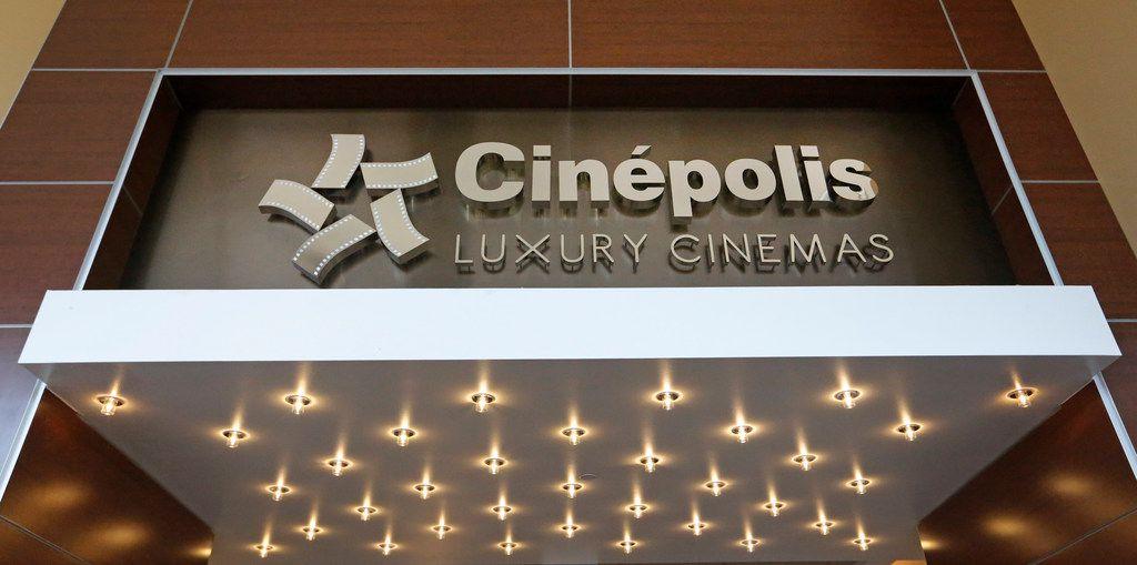 Cinepolis Luxury Cinemas at Victory Park near downtown Dallas.