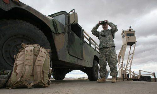 Imagen de archivo de un punto en la frontera entre México y Estados Unidos en West Columbus, New Mexico. Foto AP.