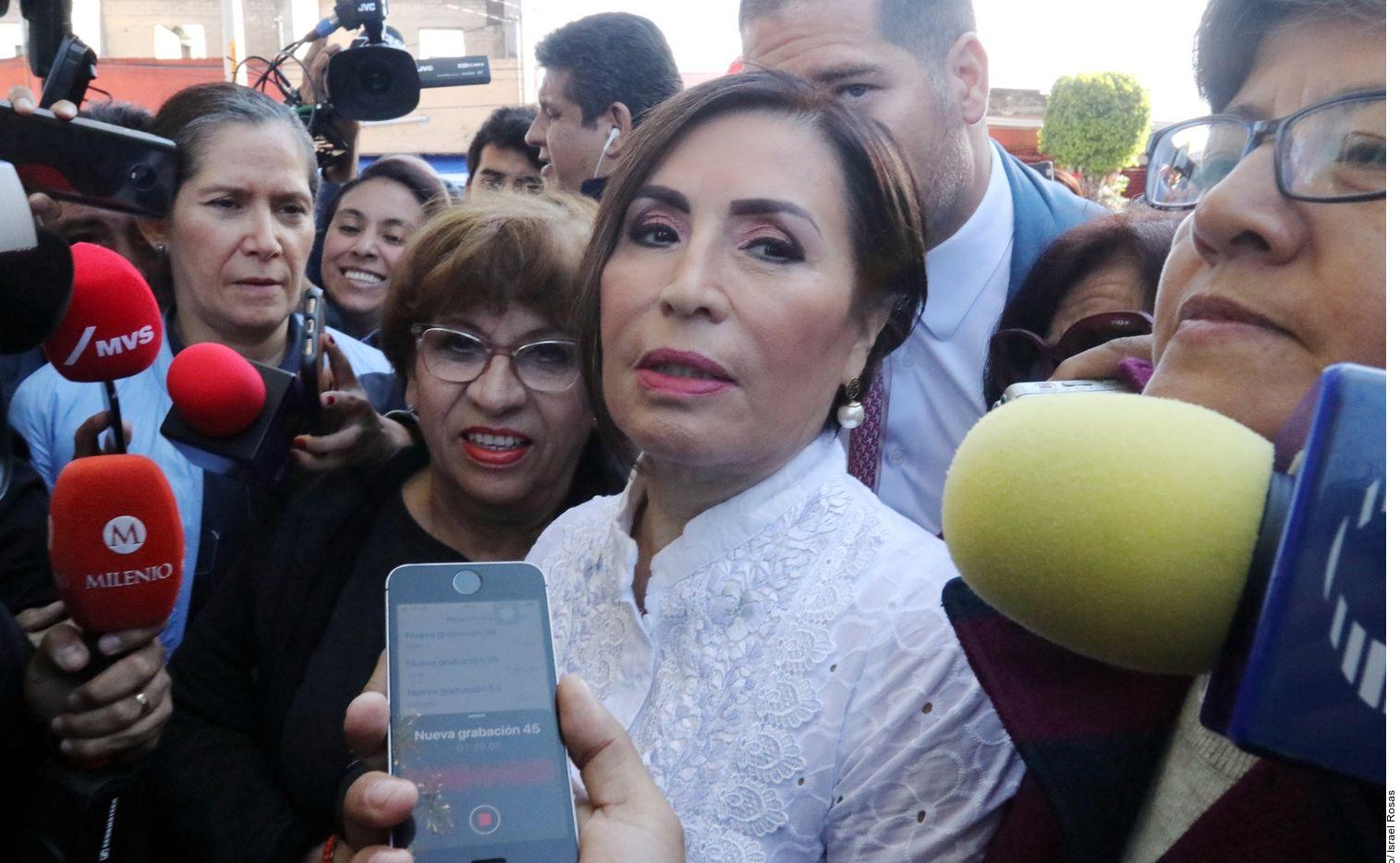 Rosario Robles fue secretaria de Desarrollo Social y Desarrollo Urbano durante la presidencia de Enrique Peña Nieto en México.