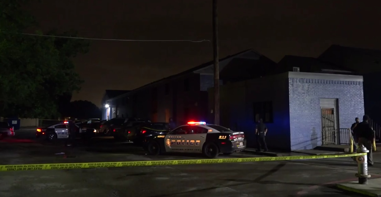 Officers were dispatched about 1:20 a.m. Saturday to The Loop @ 2755 apartments in the 2700 block of East Ledbetter Drive.