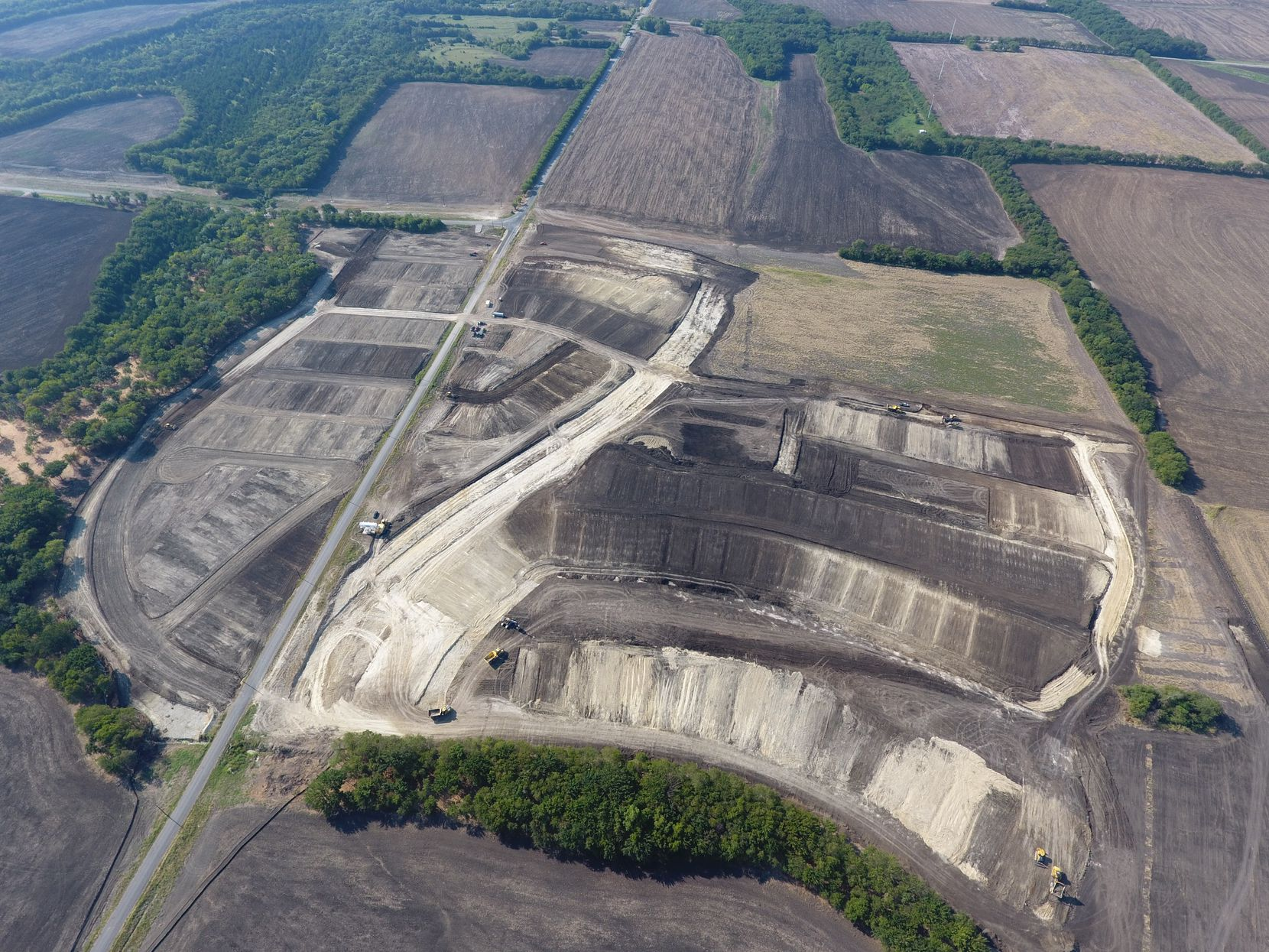 Construction has started on the almost 3,000-acre Mantua development.