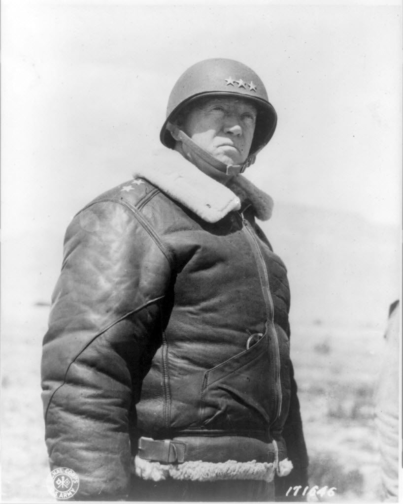 Gen. George Patton on March 30, 1943. (U.S. Army Signal Corps/Library of Congress)