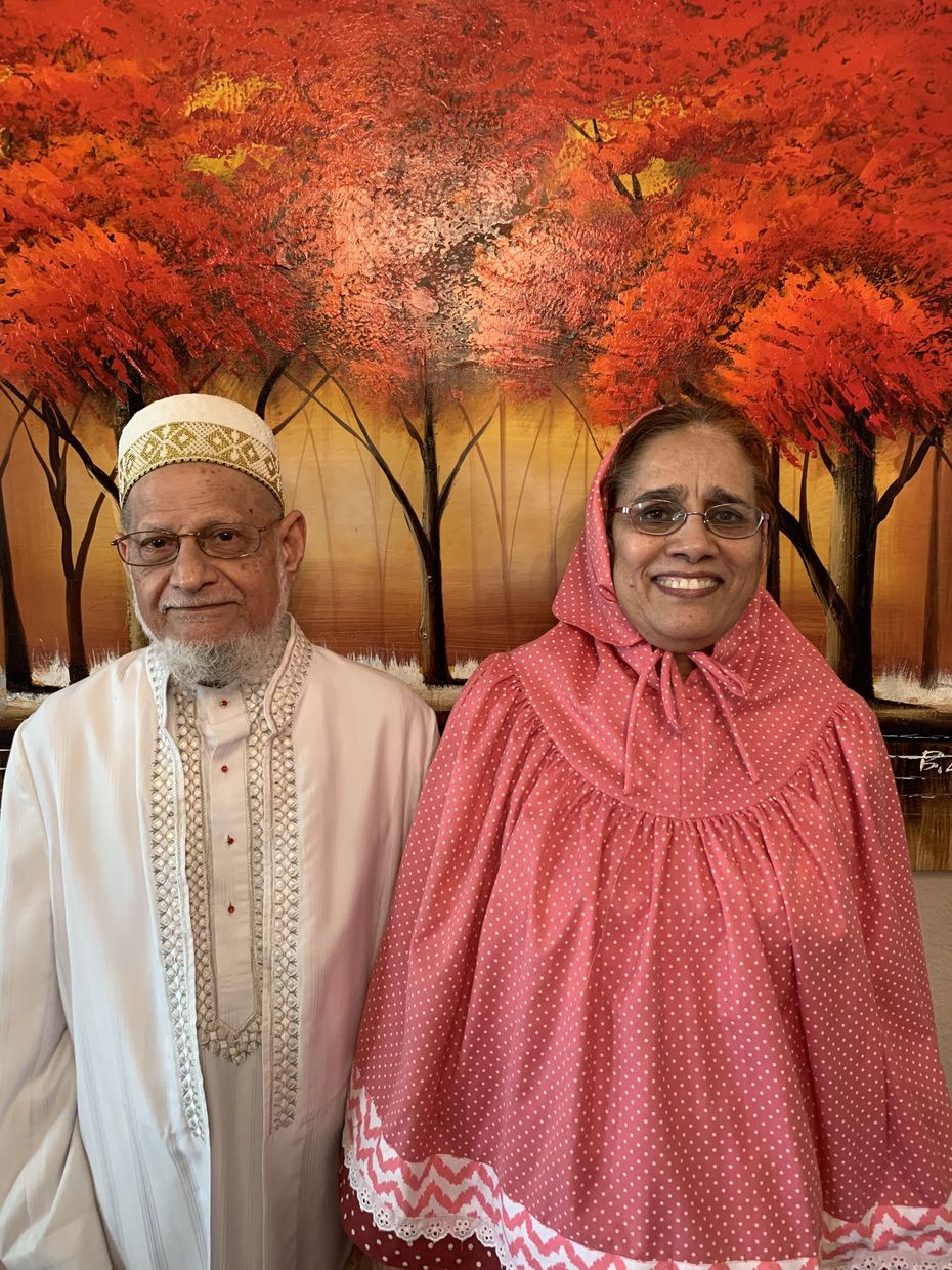 Mohamed and Salma Mushir of Irving were among the more than 40,000 volunteers who joined the Pfizer vaccine trial.