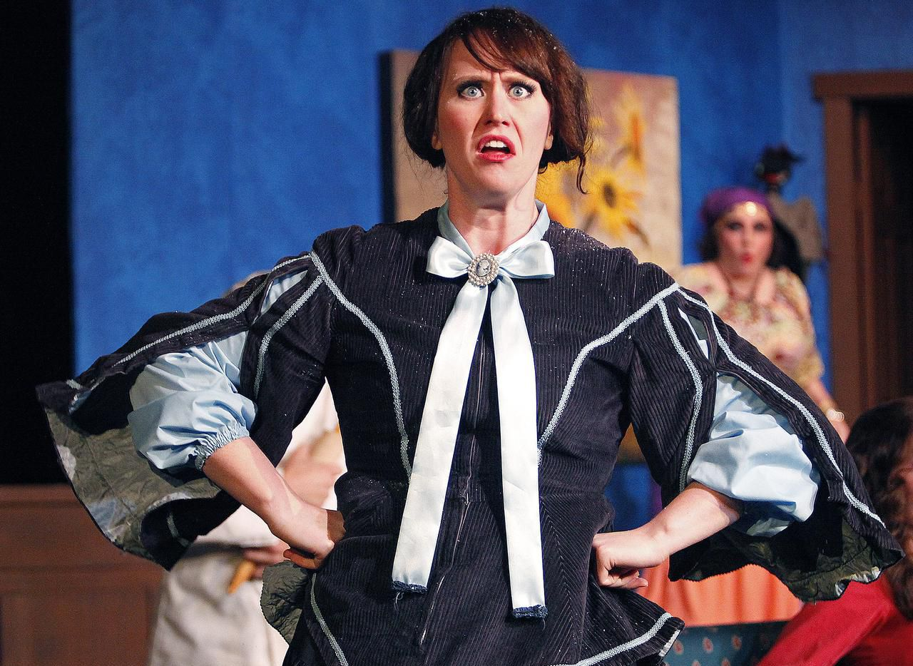 """Hannah Brake as Ernestine Parkhurst in a past production of Pocket Sandwich Theatre's """"Jack the Ripper: Monster of Whitechapel."""" The show is being revived this fall as the theater puts on the last performances at its longtime Mockingbird Lane home."""