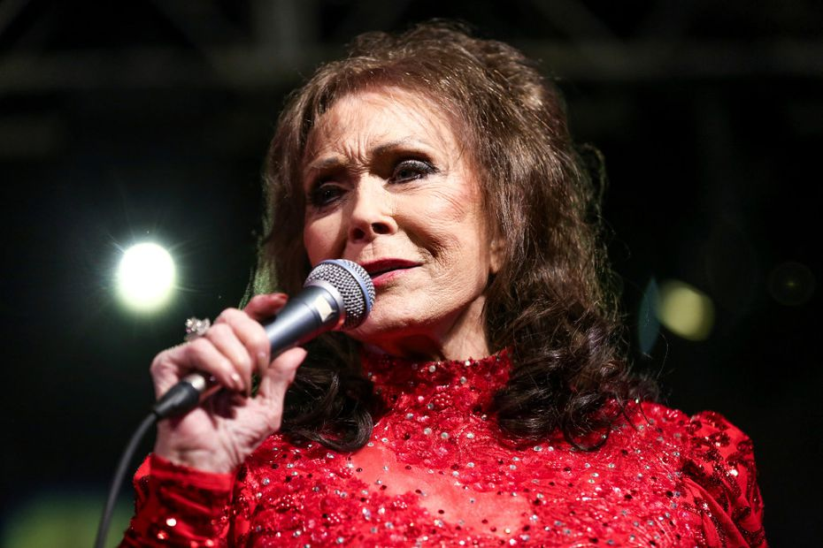 Country music legend Loretta Lynn was among the artists who played Panther Hall in Fort Worth.