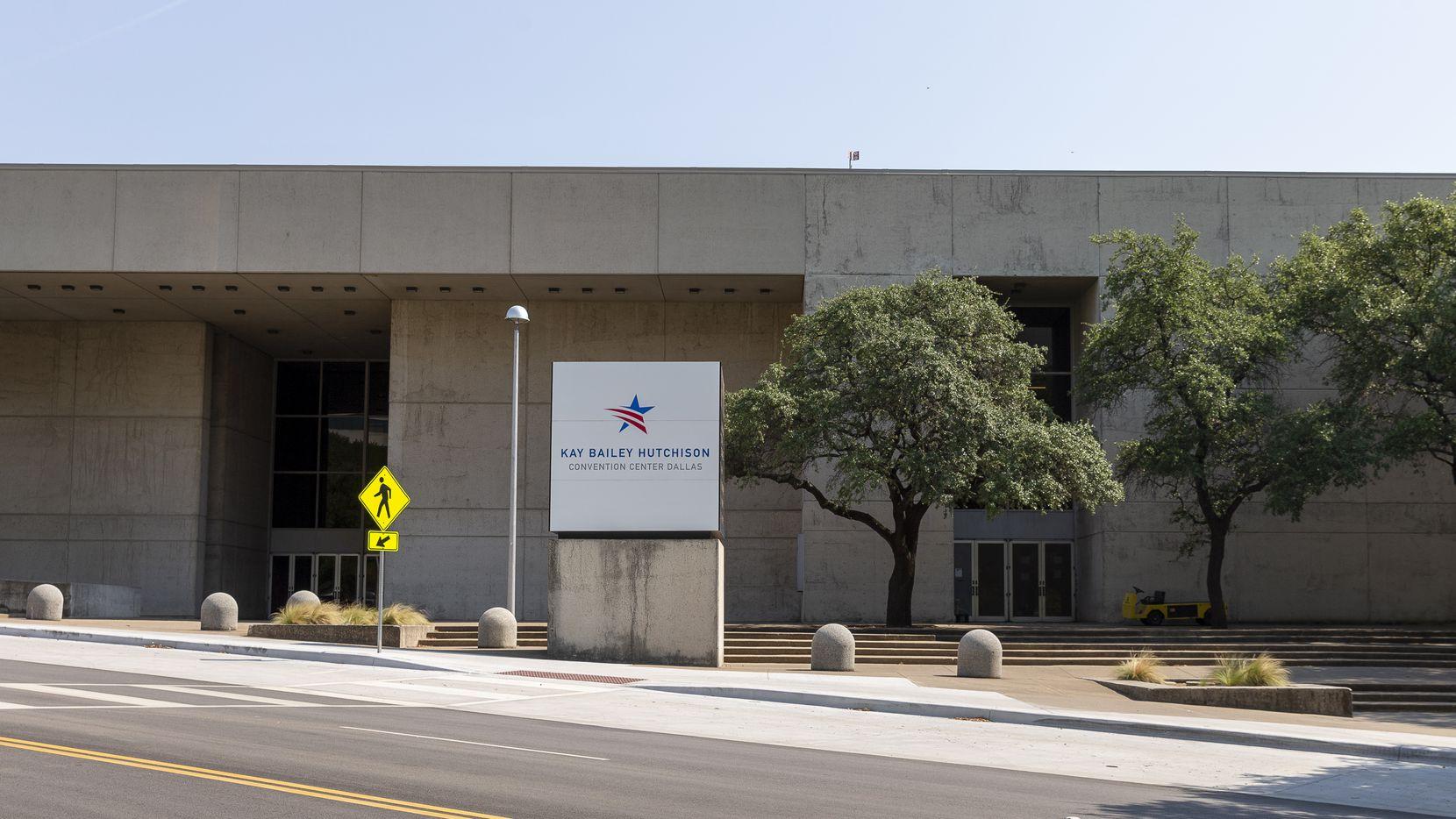 The Kay Bailey Hutchison Convention Center on Thursday, Sept. 9, 2021, in Dallas. (Elias Valverde II/The Dallas Morning News)
