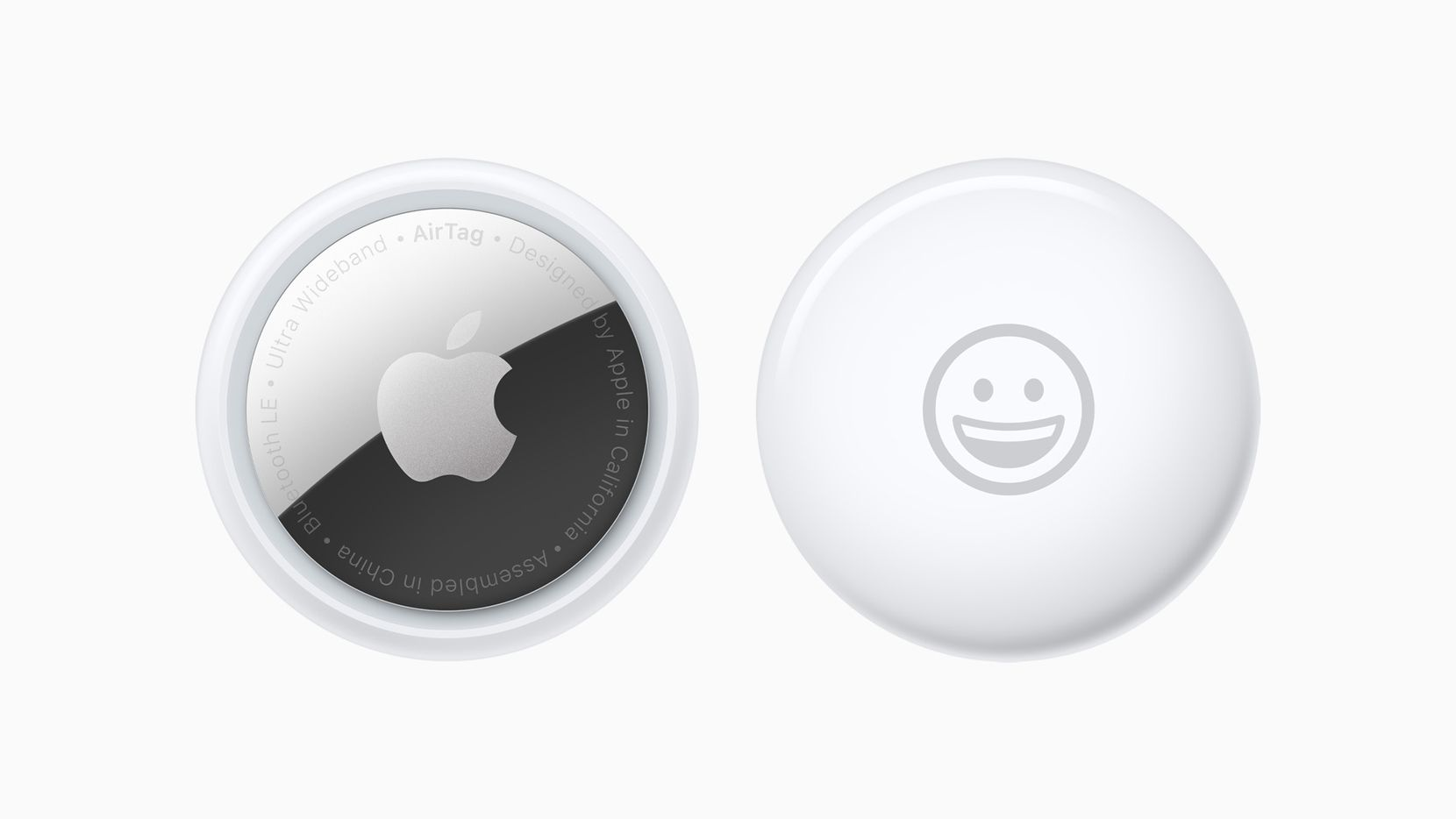 Apple's AirTag can be personalized with an emoji or even your name, if it's short.
