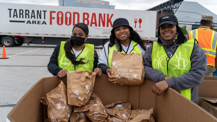 Since May, 72,000 meal kits have been distributed as part of the collaborative effort between Tarrant Area Food Bank and HelloFresh.
