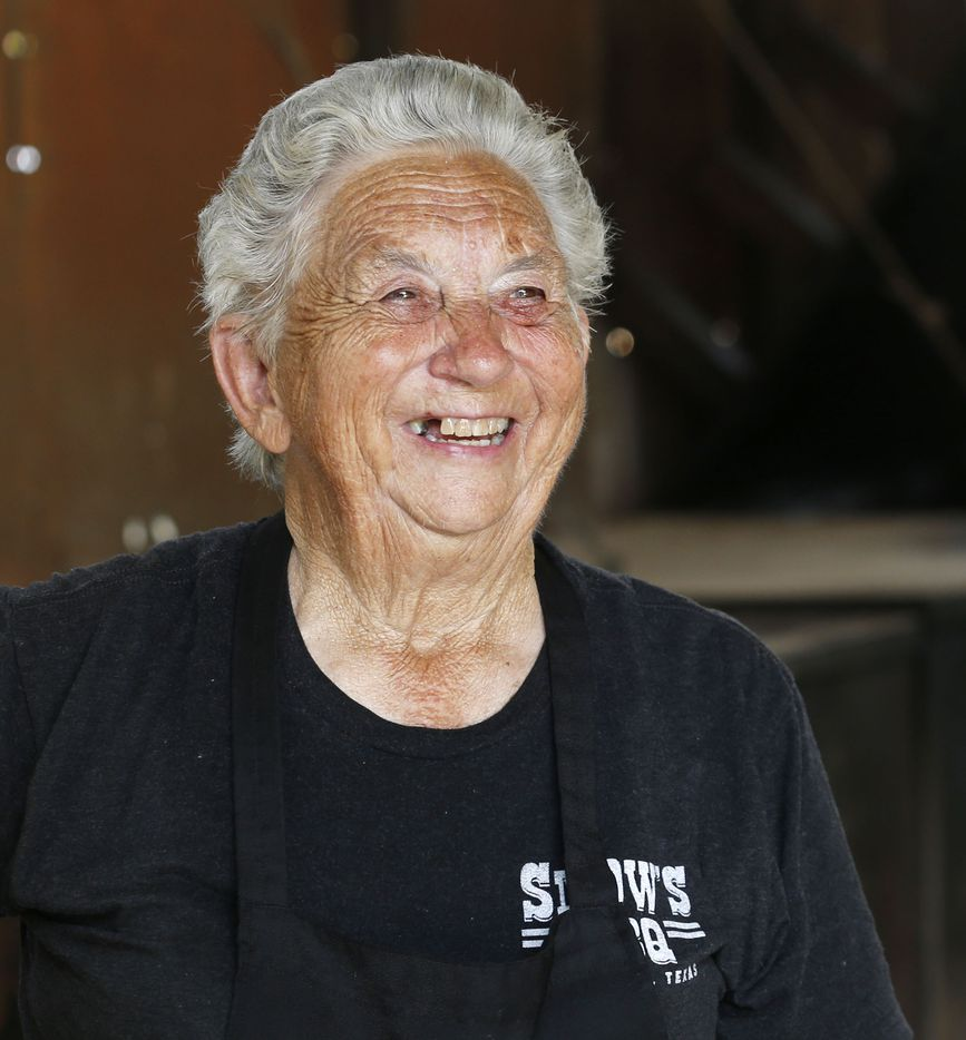 Tootsie Tomanetz is a celebrity in the barbecue world and soon will be in the Barbecue Hall of Fame.