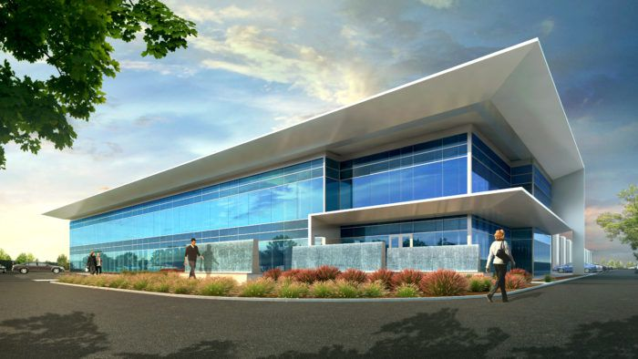 Stream's new data center is on Dominion Parkway.
