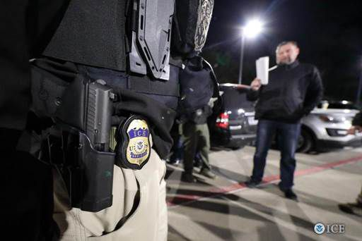Of those arrested in a three-day immigration operation, 82 were men and four were women. They range in age from 19 to 61 years old, ICE officials said.