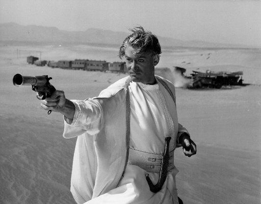 Chris Vognar had never seen Peter O'Toole  in the 1962 Academy Award-winning film Lawrence of Arabia.