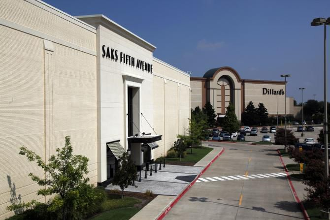 The Saks Fifth Avenue store at the Shops at Willow Bend remains vacant after closing in August 2010.