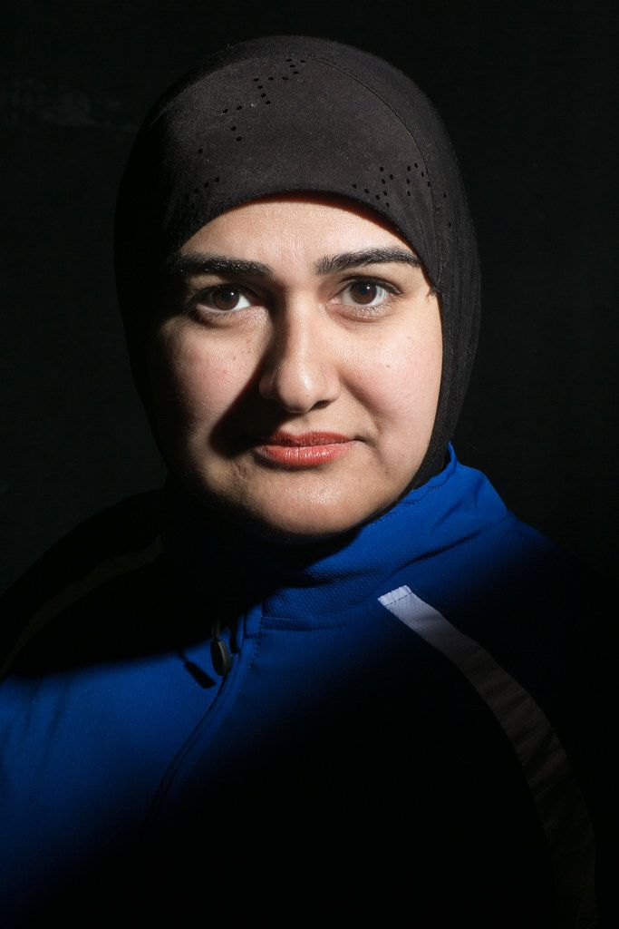 Chicago-based playwright-actress Rohina Malik, who wrote and stars in her one-woman show Unveiled.