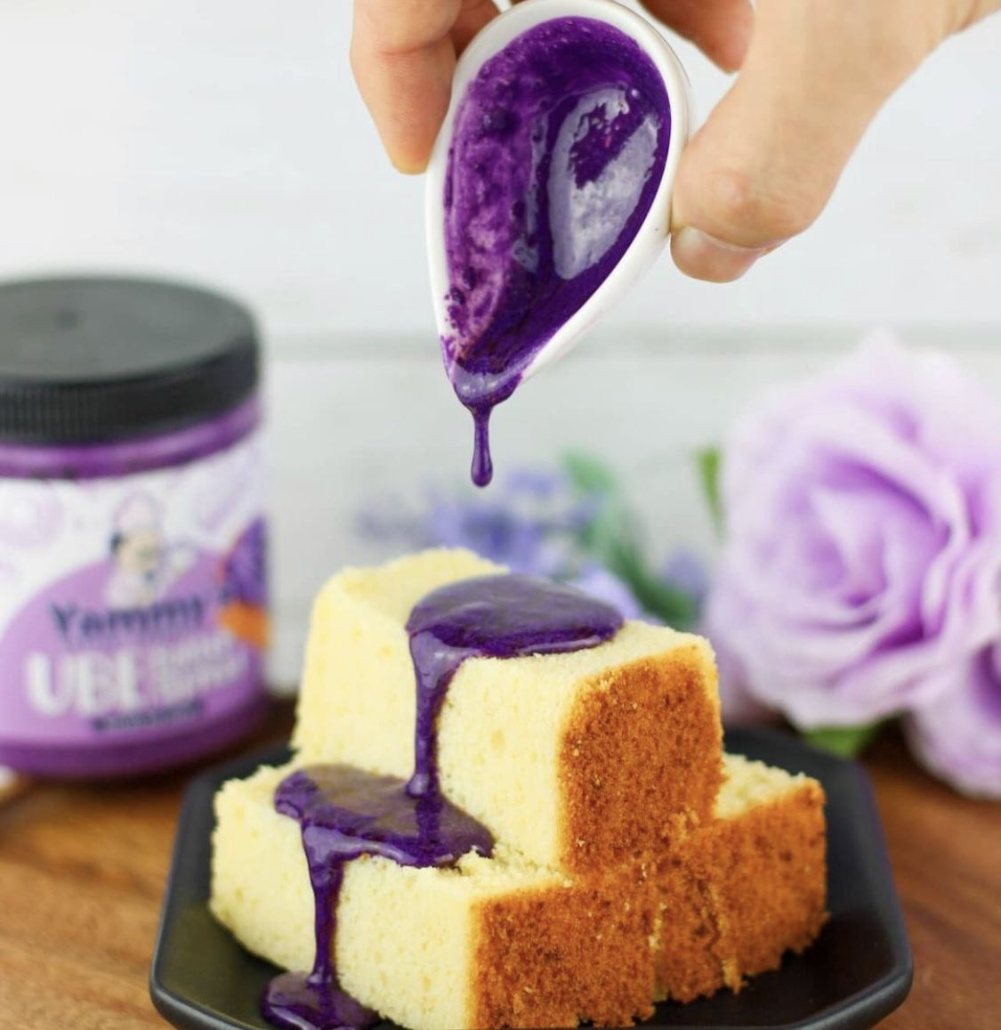 Ube butter from Yammy's