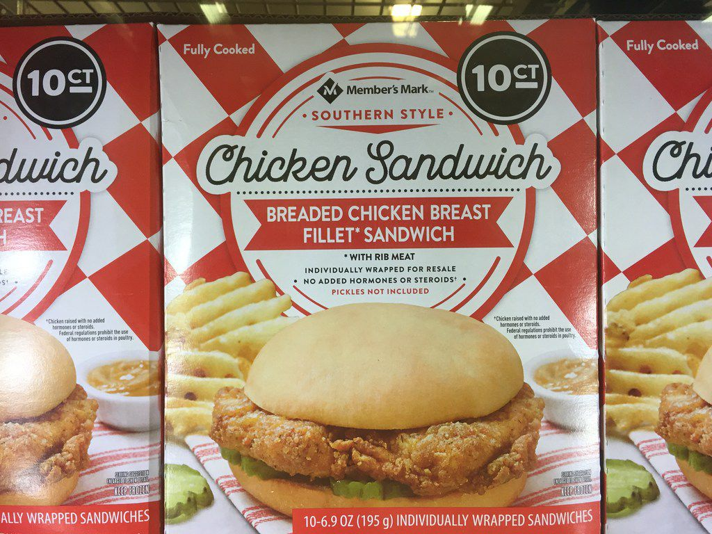 "Sam's Club is selling frozen waffle fries and breaded chicken breast sandwiches under its Member's Mark private label brand. The ""southern style"" foods are dead ringers for a popular combo order at successful fast-food restaurant Chick-fil-A."