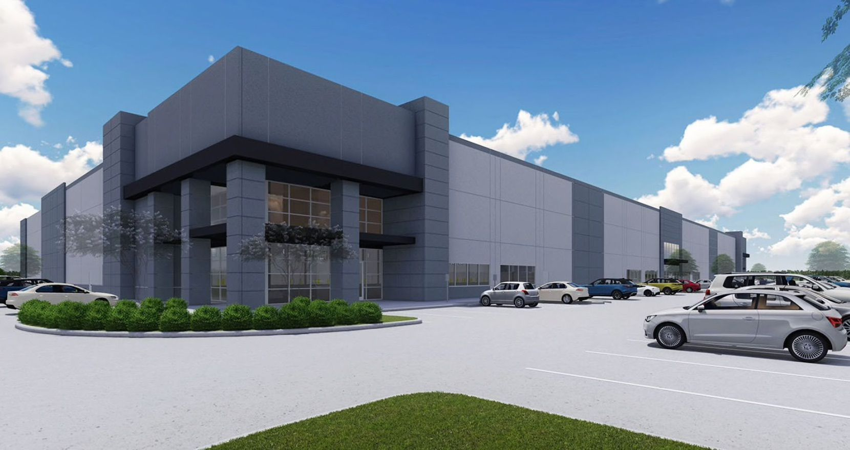Scannell Properties is also a partner in the Denton Crossing industrial park being built on Interstate 35.