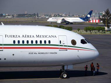 El avión presidencial que utilizó el predecesor de AMLO, Enrique Peña Nieto, no encuentra comprador.