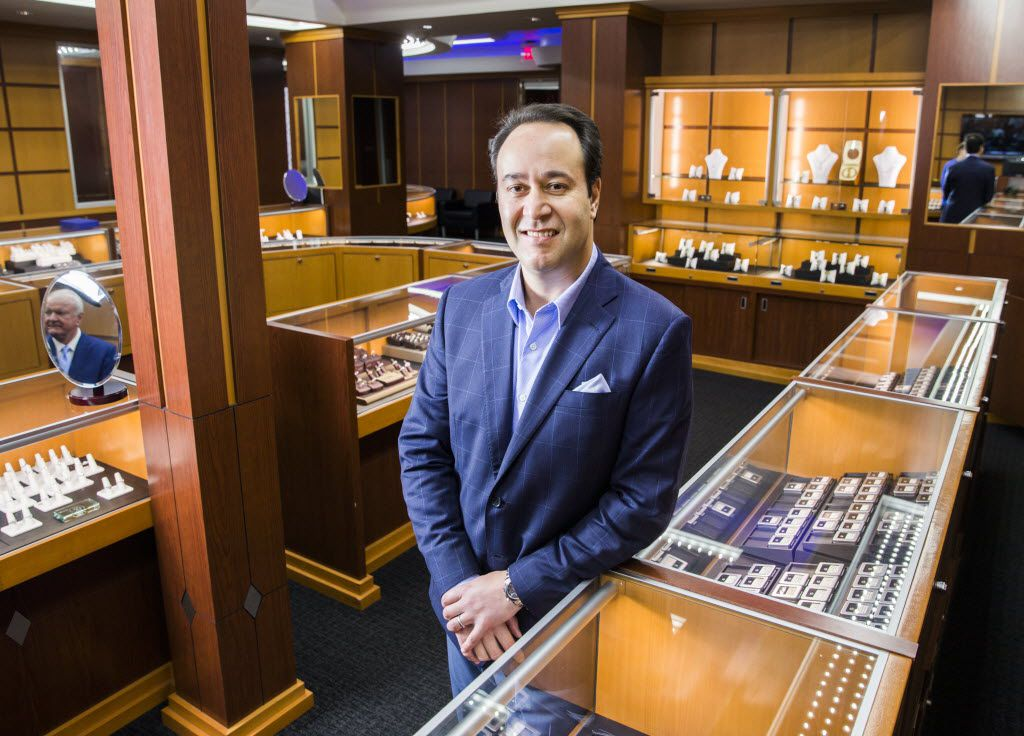 David Blank has sold his Diamond Doctor jewelry store to Diamonds Direct, . (Ashley Landis/The Dallas Morning News)