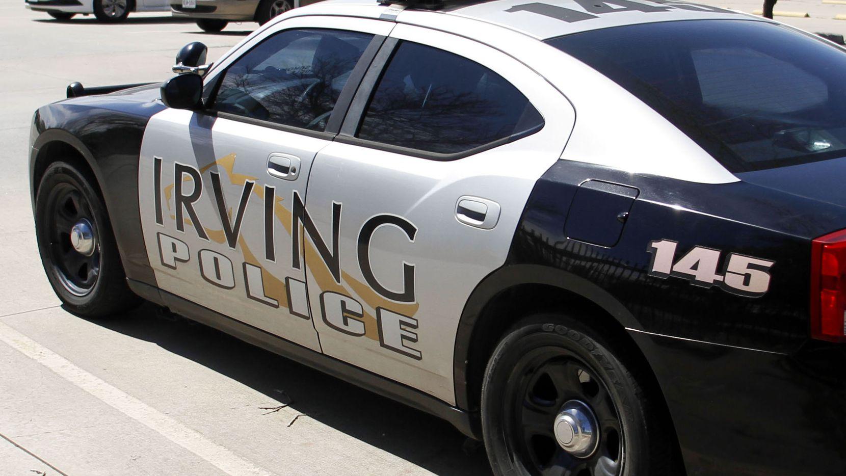 Una patrulla de la Policía de Irving, Texas.