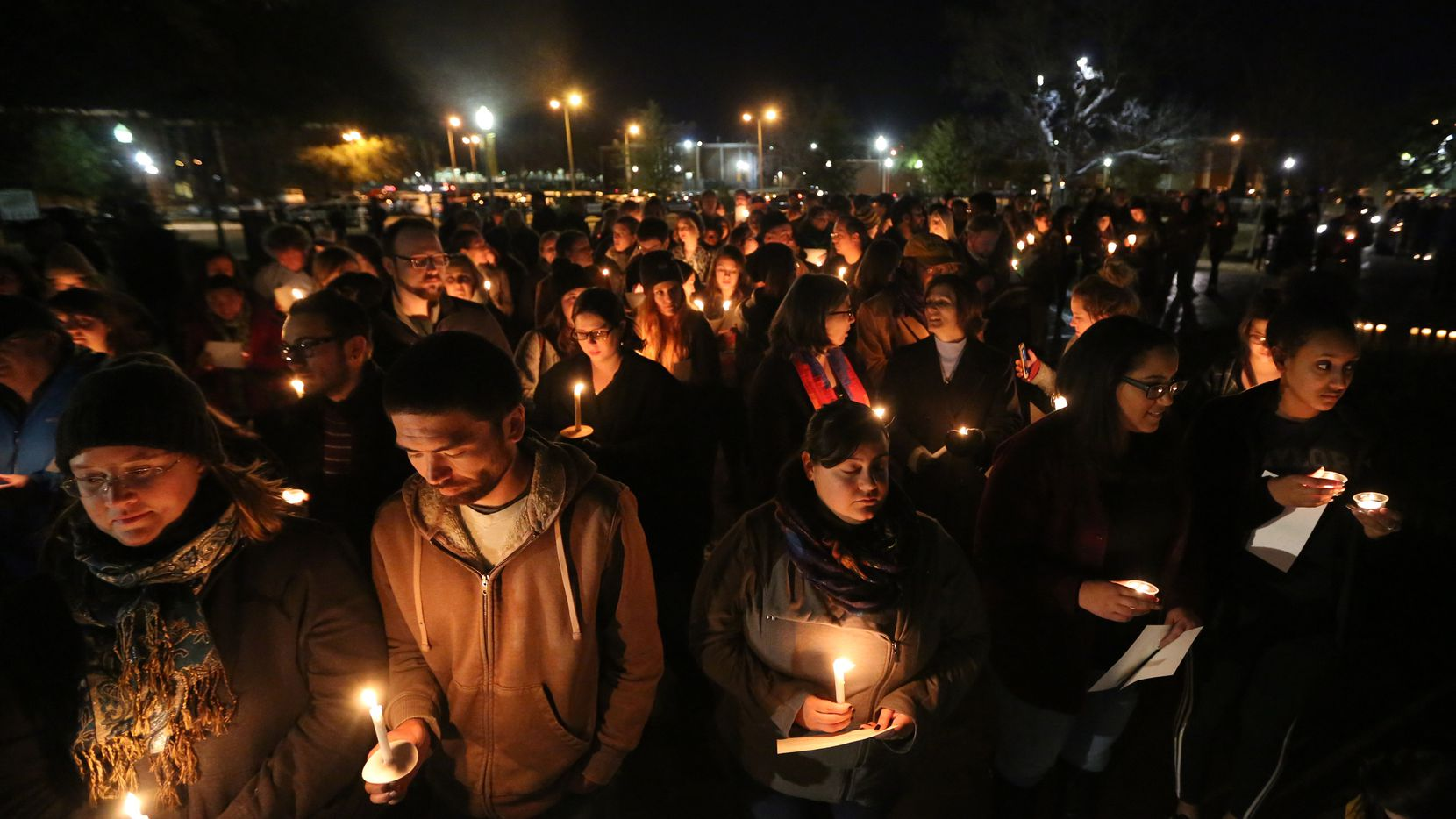 In the months after the 2015 story broke about sexual assault allegations within Baylor's football program, students and alumni at the Waco school held candlelight vigils in support of the survivors.