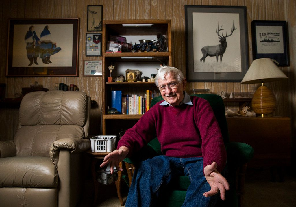 The Watchdog's correspondent Don McElfresh poses for a portrait in his home Jan. 3 in Dallas.
