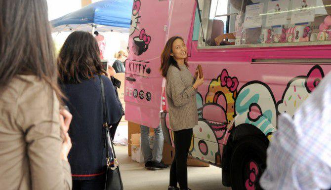Hello Kitty Food Truck estuvo en Plano/ FOTO ESPECIAL PARA EL DMN ALEXANDRA OLIVIA