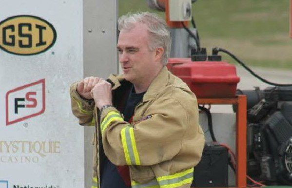 Peter Hacking was a captain in the Nevada Fire Department where he volunteered.