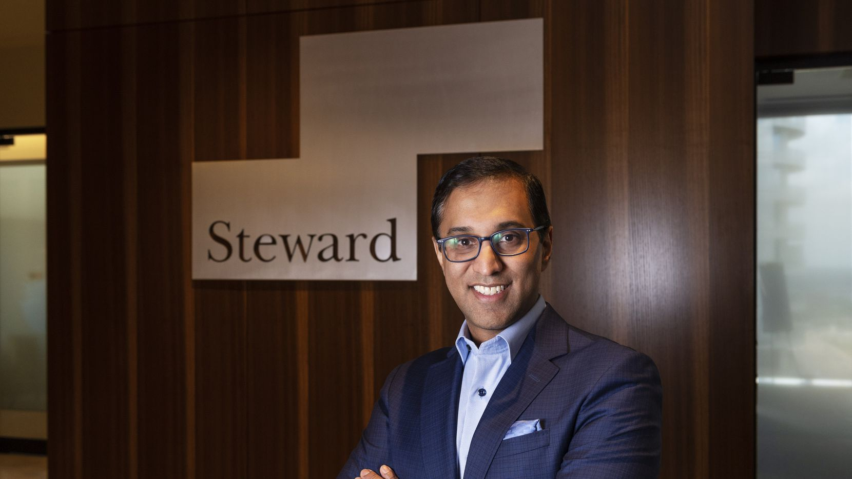 """Dr. Sanjay Shetty, president of Steward North America, says the company wants to more broadly become """"part of the fabric of the state. We're very much a part of Texas."""""""
