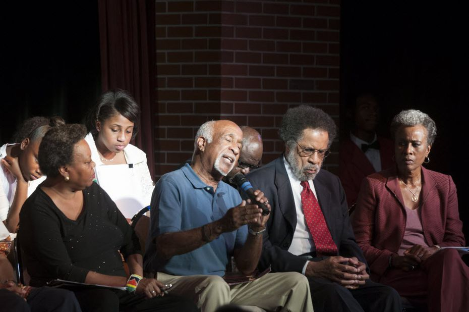 """Ernest McMillan stays positive 50 years after the black power movement launched. """"This is a long struggle. Might be a never-ending one, where you have to stand up for justice again and again."""""""