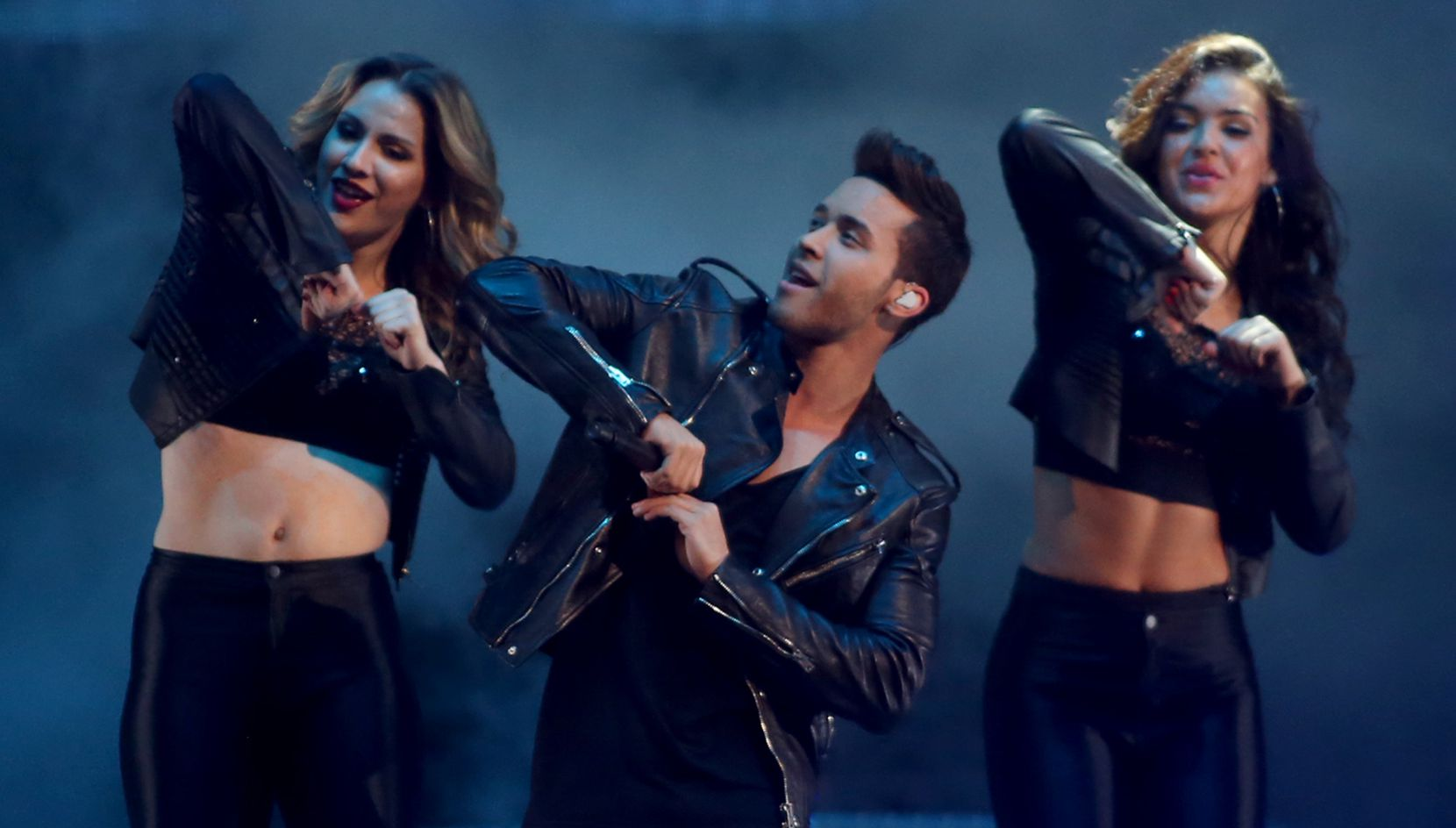Prince Royce en el American Airlines Center/ RICK MOON/ DMN