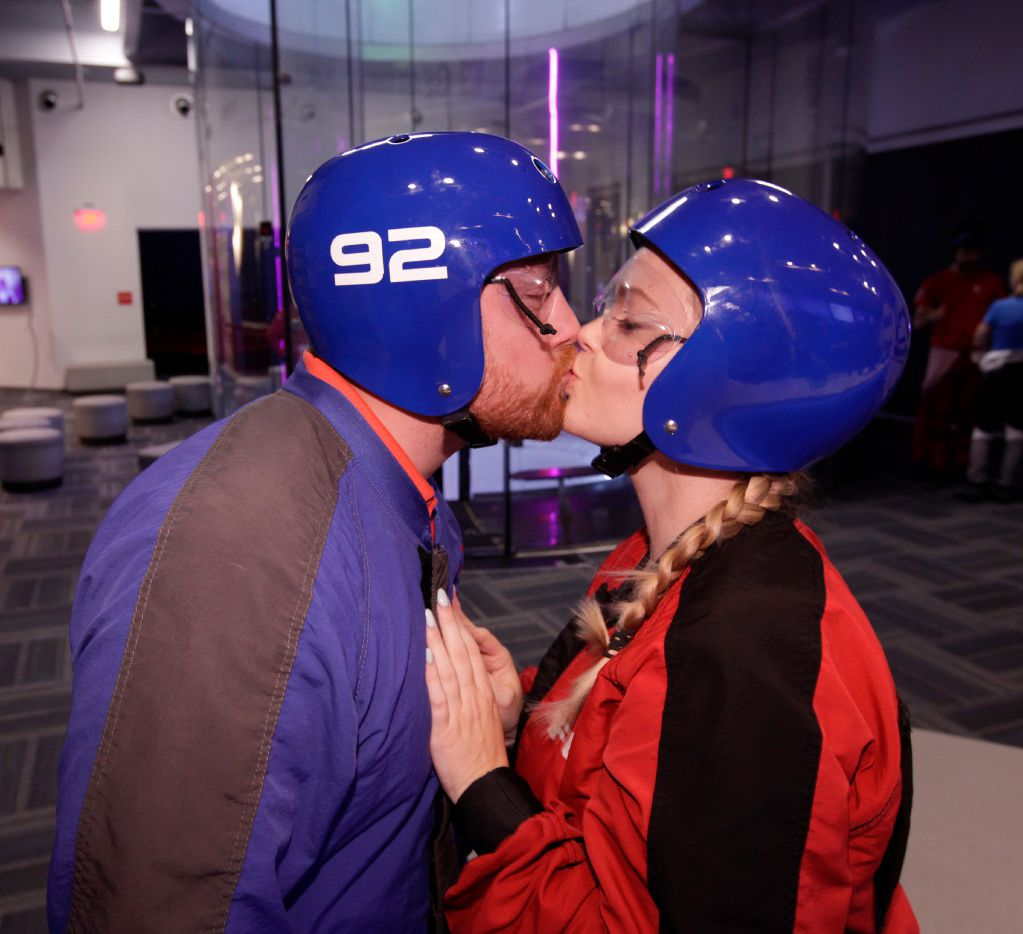 Want to spice up a date? Consider going indoor skydiving or taking a 160-mile-per-hour trip around Texas Motor Speedway