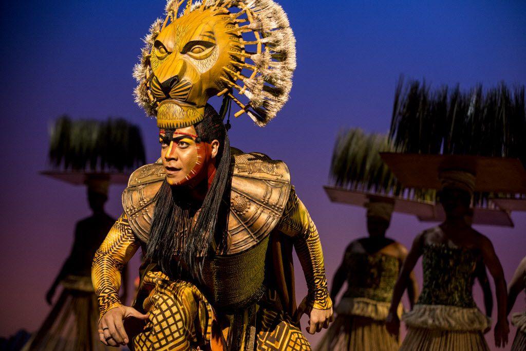 """Gerald Ramsey es Mufasa en el tour de Norte América del musical '""""The Lion King"""". Cortesía"""