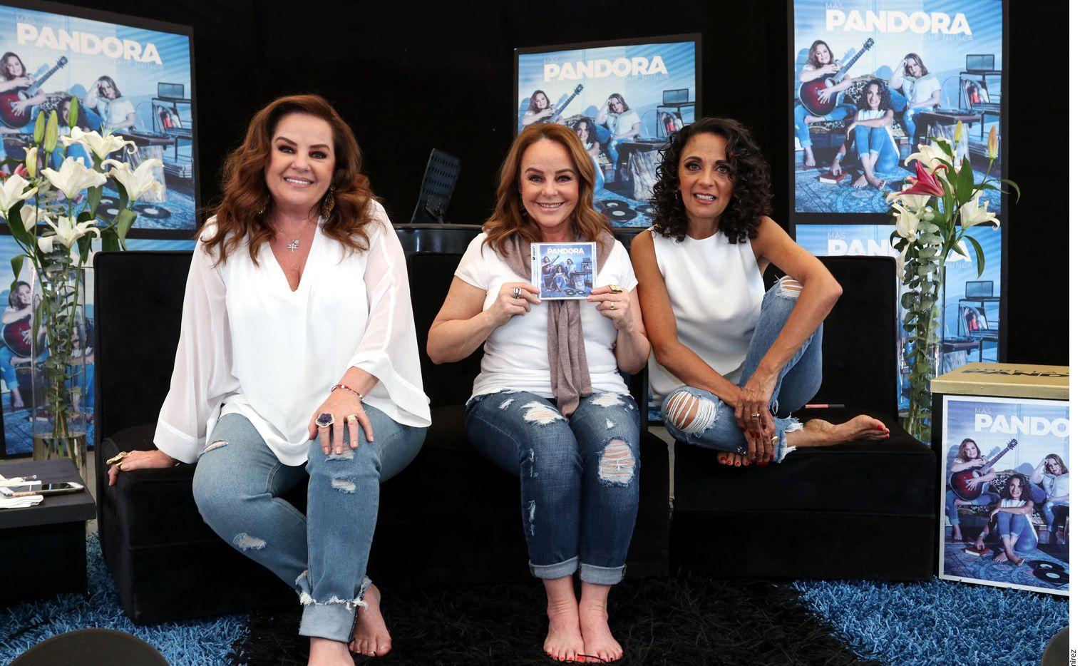 La armonía que impregna tanto sus voces como su relación interpersonal ha mantenido a Pandora como la agrupación femenina con más trayectoria en México. (AGENCIA REFORMA)