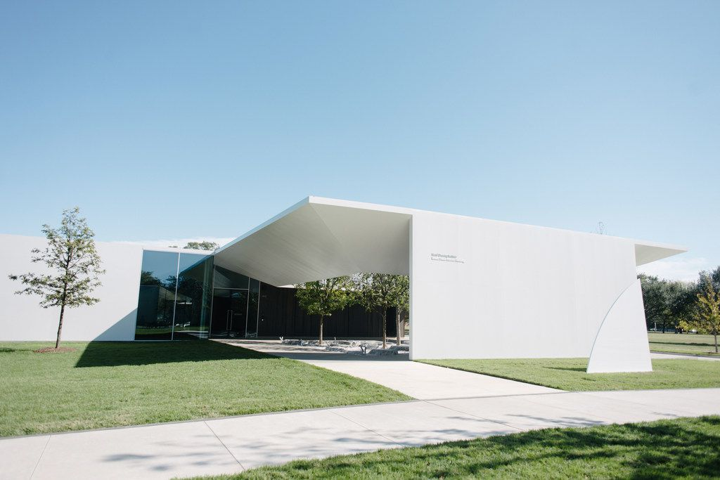 The Menil Drawing Institute, designed by the Los Angeles architects Sharon Johnston and Mark Lee, in Houston, Nov. 15, 2018. The institute is advertised as the country's first free-standing facility dedicated to the conservation and study of modern and contemporary drawing.