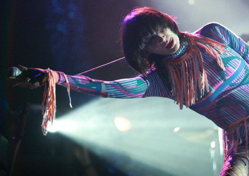 Seen here in 2009 while performing at the Austin City Limits Music Festival, Karen O and the Yeah Yeah Yeahs will headline the 2017 Sound on Sound Festival near Austin.