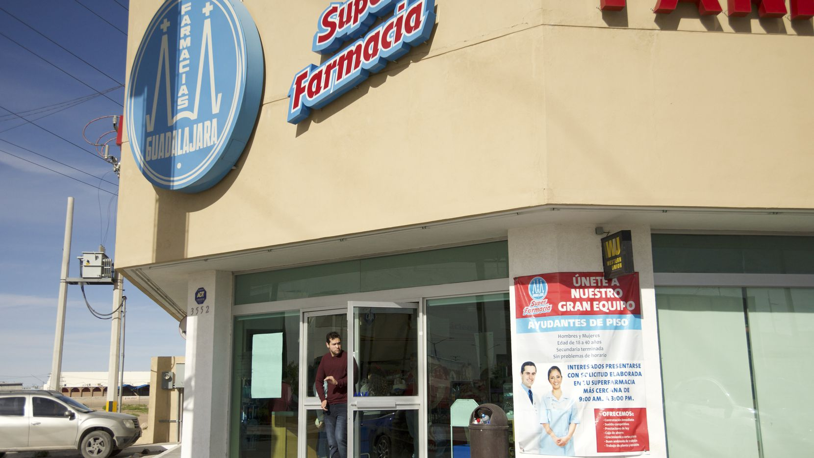 At a Farmacias Guadalajara, a Mexican pharmacy chain in Ciudad Juarez, employees have noticed a recent dramatic spike in customers coming from the U.S. looking for cheaper hygienic products and medication.