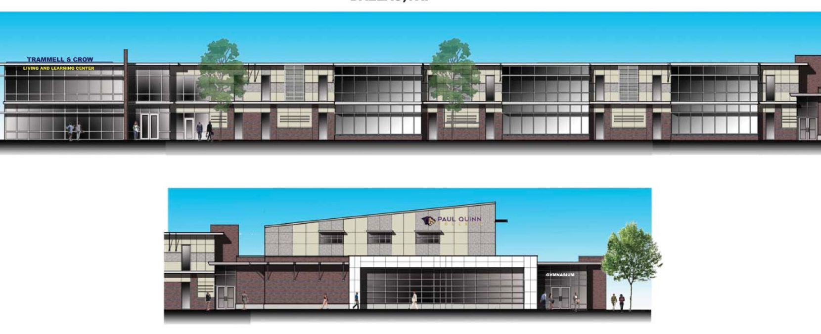 RBA Architects designed the new Trammell S. Crow Living and Learning Center at Paul Quinn Coll