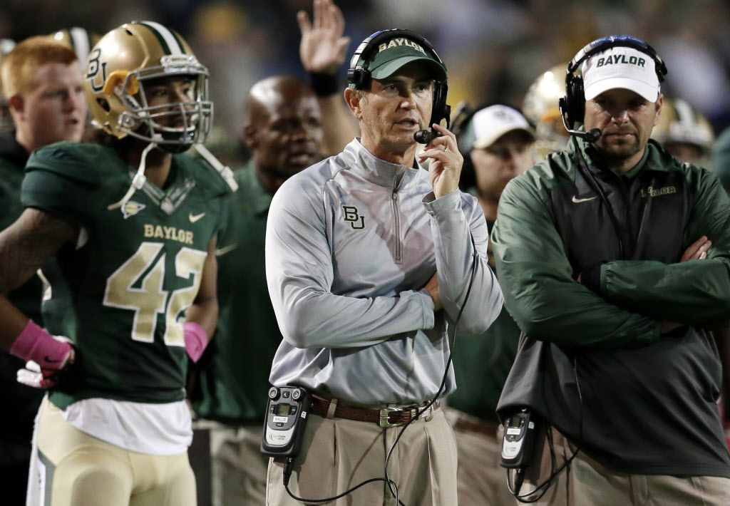 Art Briles compiled a 65-37 record in eight seasons at Baylor.