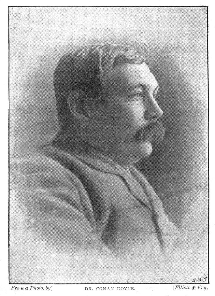 The Strand ran a profile of Arthur Conan Doyle in the August 1892 issue.  As featured in Arthur and Sherlock: Conan Doyle and the Creation of Holmes, by Michael Sims.