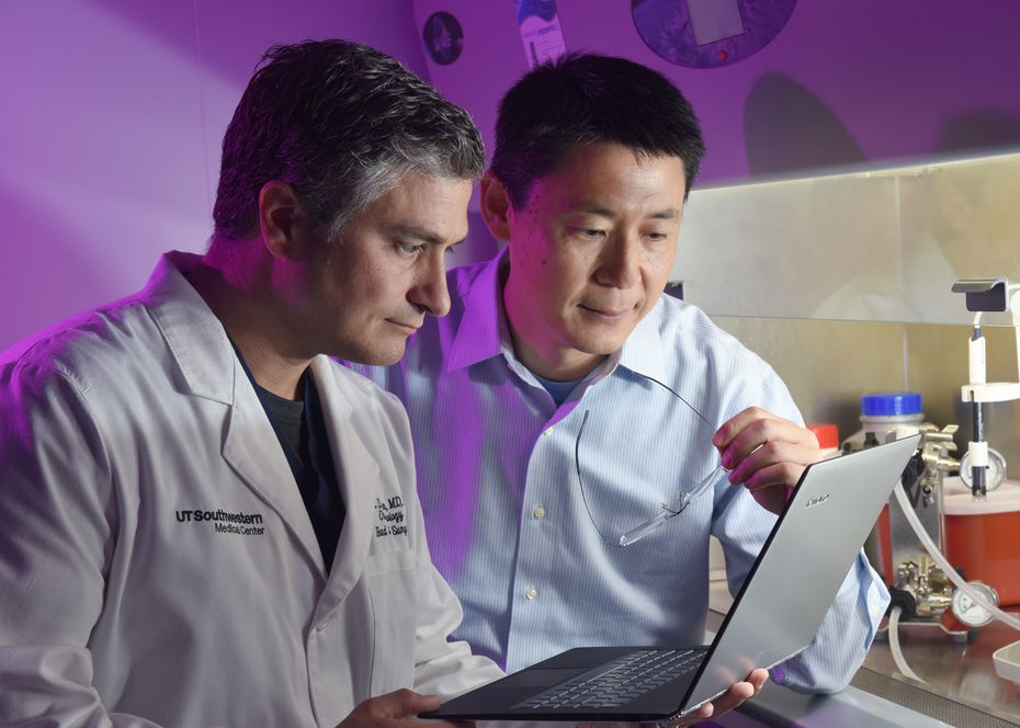 Head-and-neck cancer surgeon, Dr. Baran Sumer and bioengineer, Jinming Gao, are working on a technology to illuminate cancer cells.